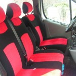 Stoelhoes Opel Vivaro - Sportiv rood